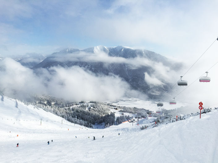 Skifahren-Erwachsene