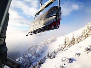 Skifahren mit Kindern