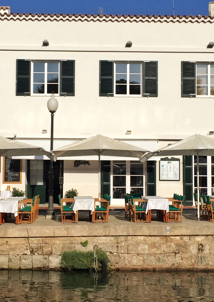 Cafe Balear in Ciutadella auf Menorca