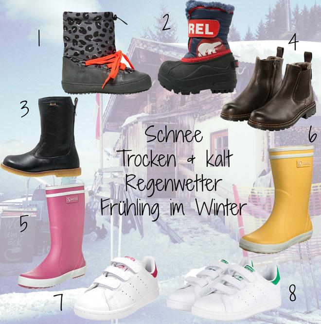 10ad1745bd0289 Kinderschuhe Winter  In diesen Schuhen trotzen Minis jedem Wetter (plus  Kinderschuhläden in München)