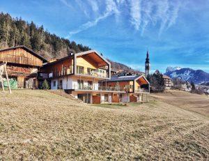 Skifahren Bauernhof Chalet Südtirol