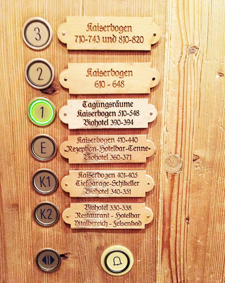 Aufzug-Stanglwirt