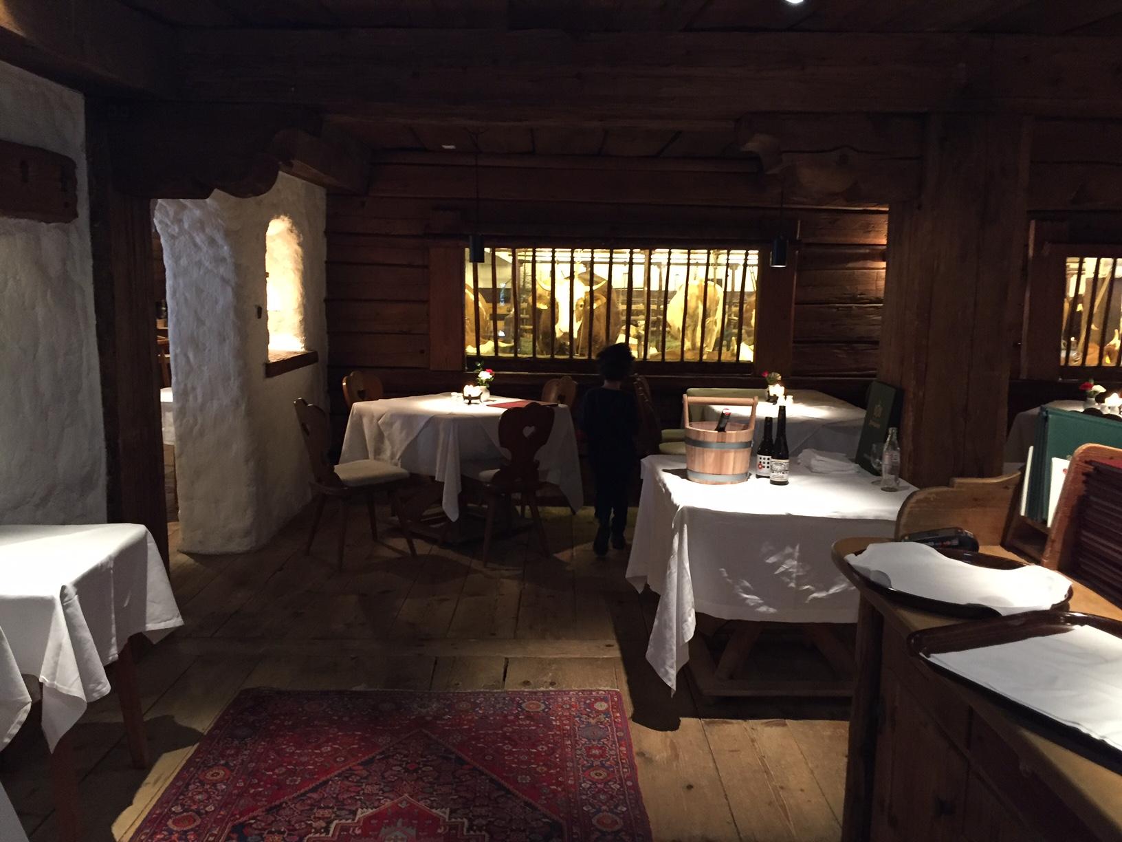 Dinner im Kuhstall