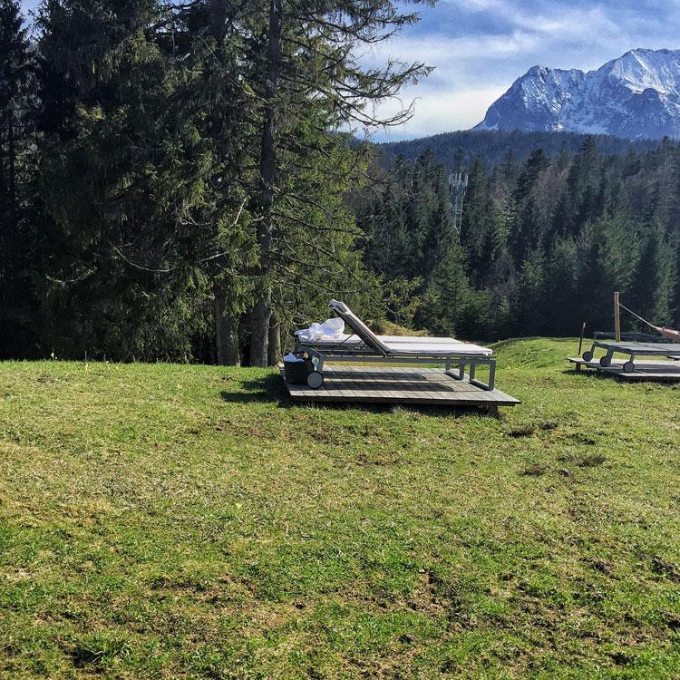 Kranzbach-Sonnenliegen