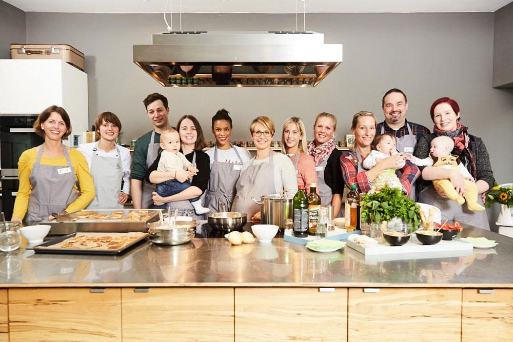 Kochschule  Kochschule: 1000 Tage! Kochkurs mit Magdalena Neuner - so war das ...