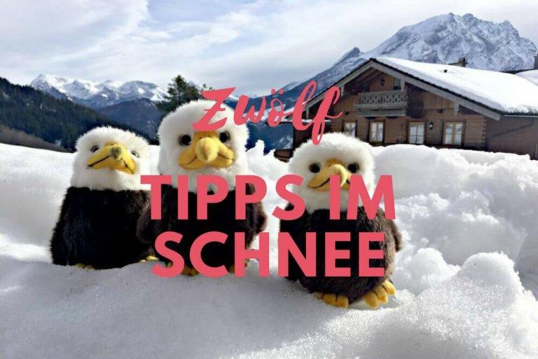 Oberbayern mit Kind im Winter