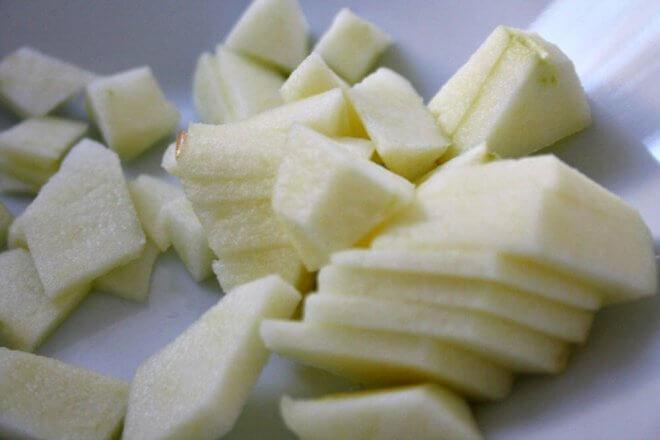 Apfelkuchen-Blechkuchen