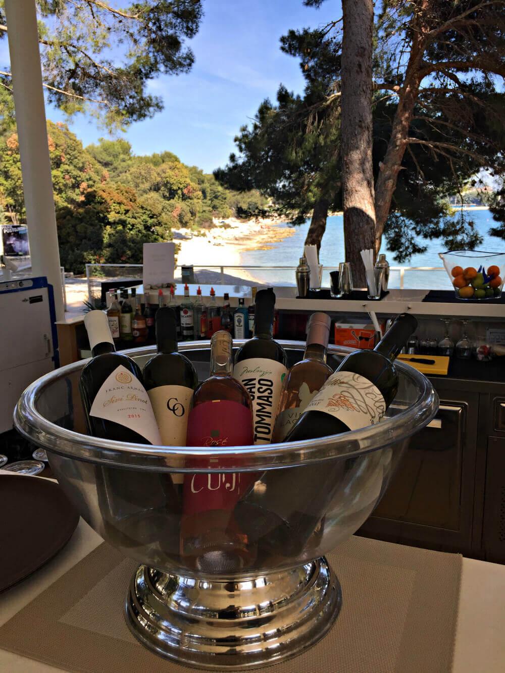 Beach Bar Kroatien Amarin
