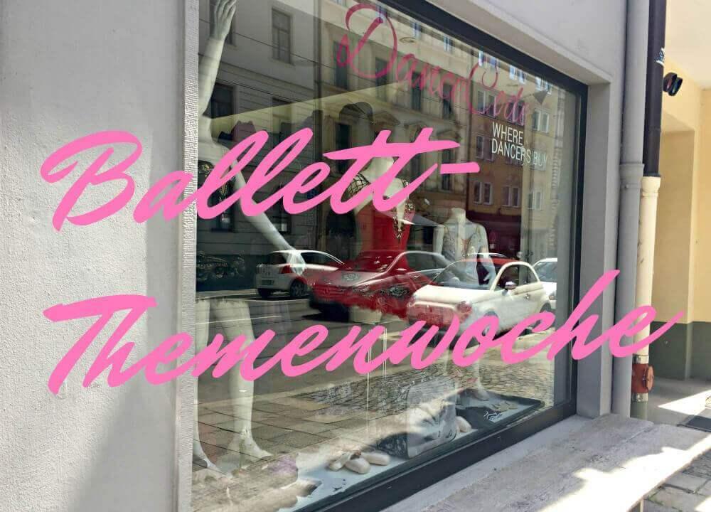 Ballettsachen für den Ballettunterricht in München kaufen