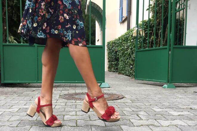 Die roten Schuhe von Softclox