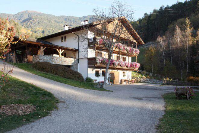 Niederthaler Hof vom Roten Hahn in Südtirol