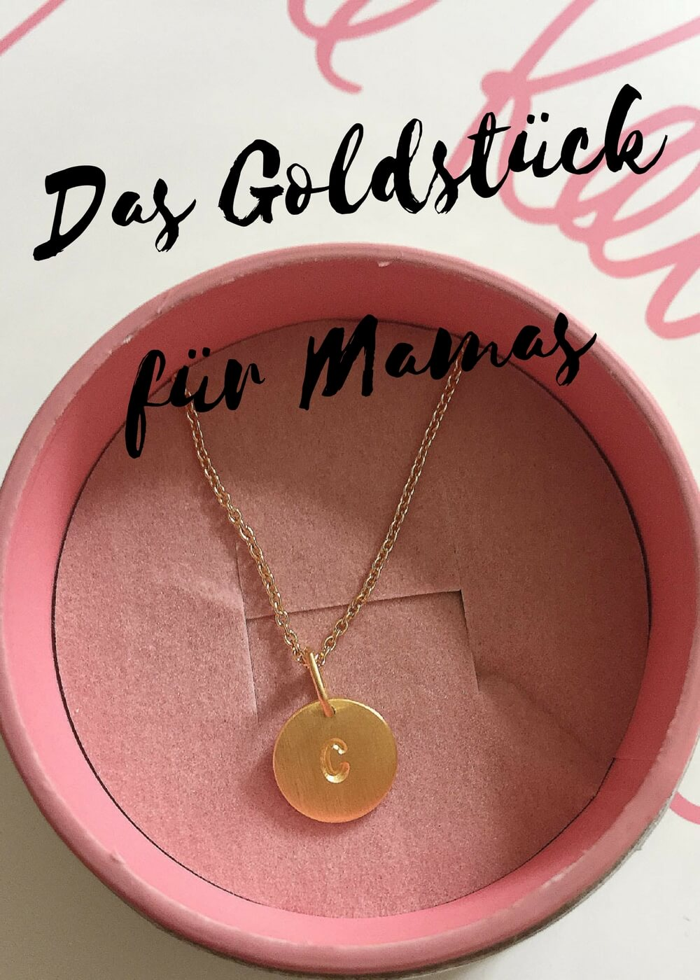 Ein Goldstück für Mamas zu Weihnachten