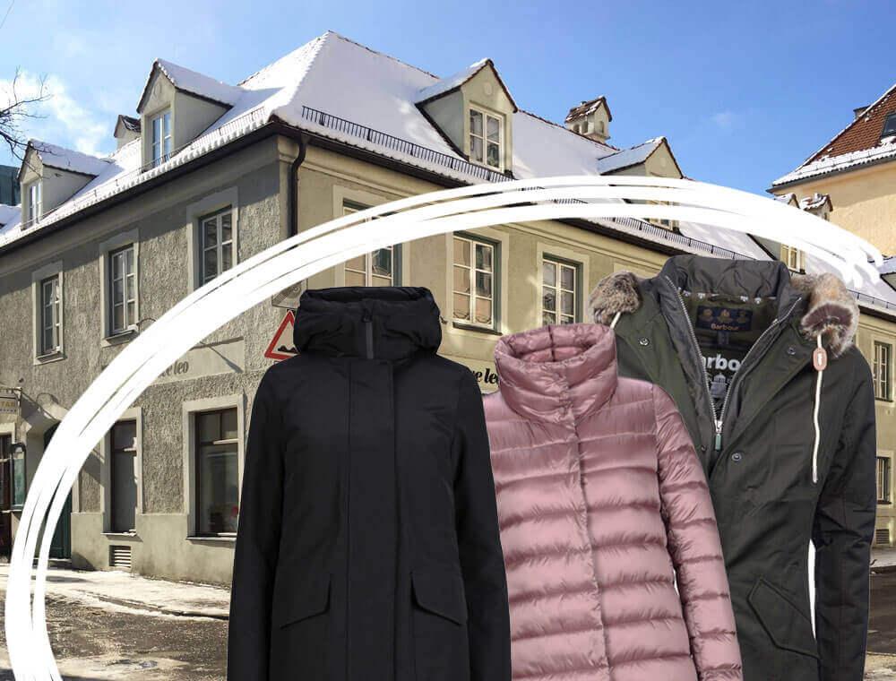 Der Parka ist die Mama Uniform im Winter