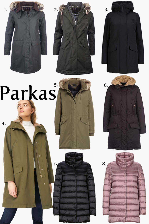 Ein Parka ist die Mama Uniform im Winter