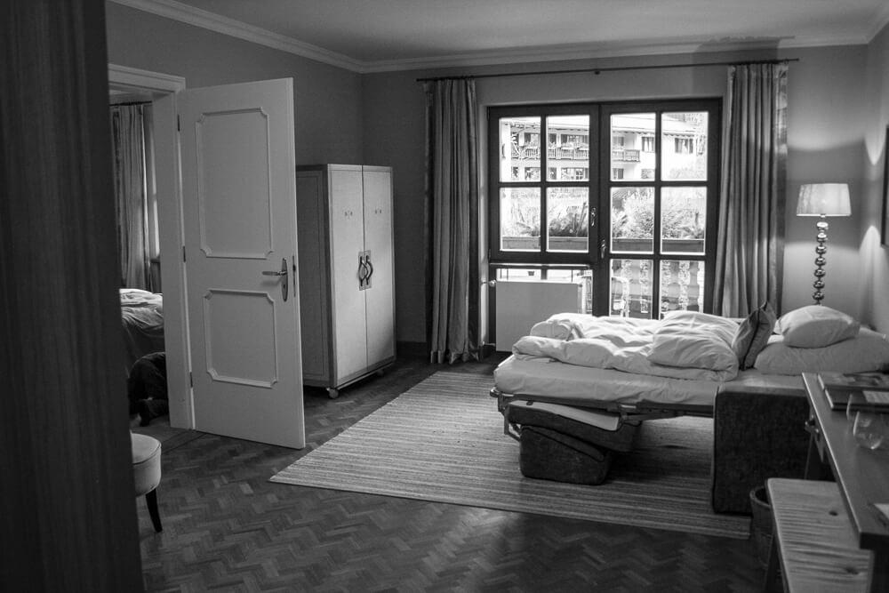 Familienzimmer im Bachmair Weissach am Tegernsee