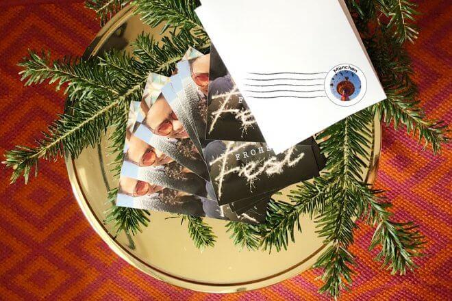 Weihnachtsgrüße per Post versenden mit Sendmoments