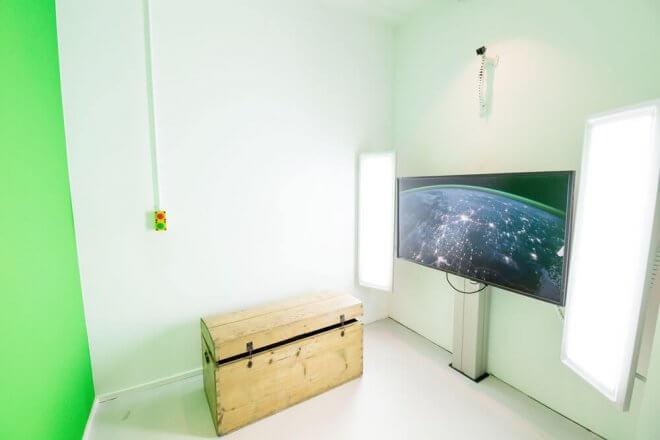 Bluebox im Kinderkunsthaus München