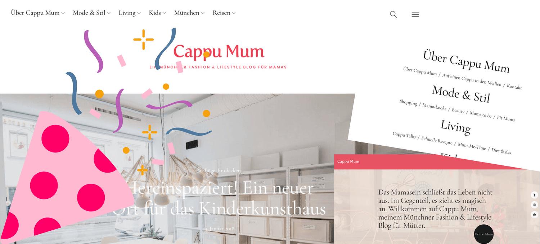Cappu Mum im neuen Design