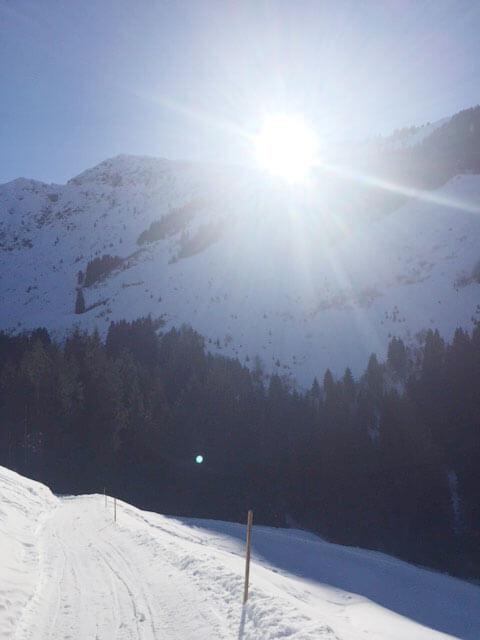 Aufstieg zur Kelchalm Bochumer Hütte
