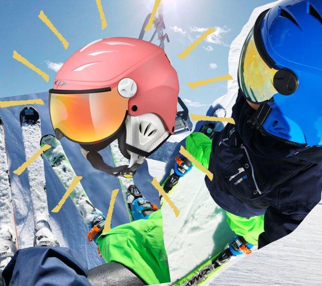 Skihelm für Kinder