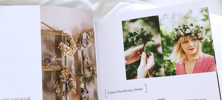 Flower Ladies Blumen Buch