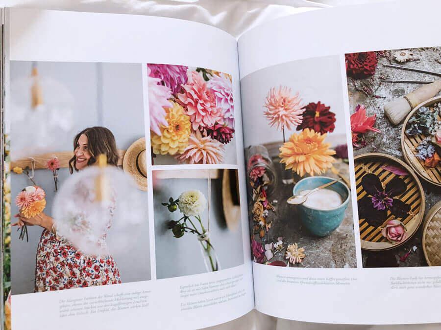 Blumen im neuen Flower Ladies Buch