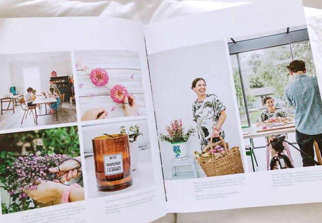 Makelight.com im Blumen Buch Flower Ladies