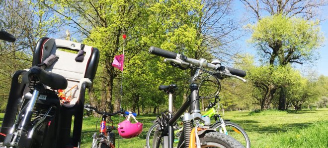 Frühling in München mit Familie