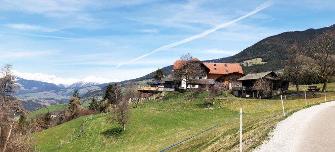 Urlaub auf dem Land auf dem Bauernhof in Südtirol