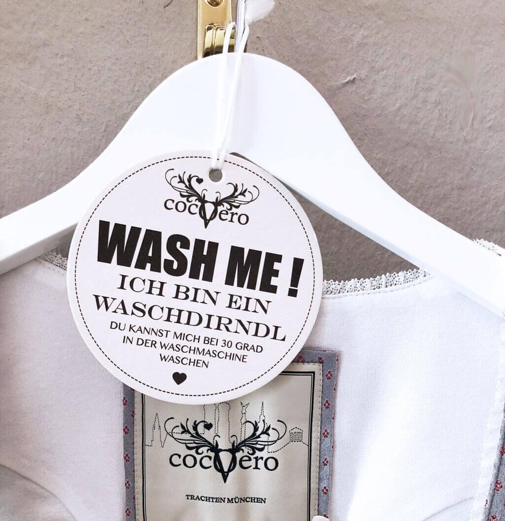 Dirndl waschen Tipps