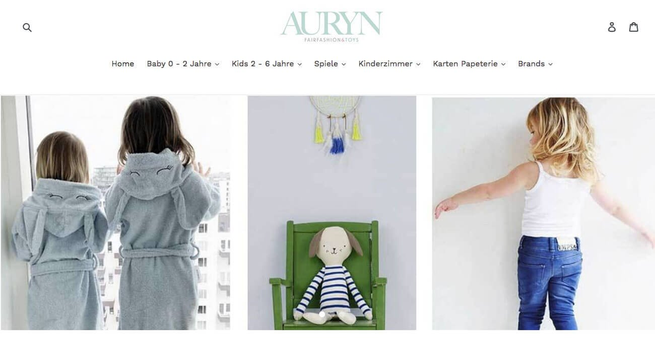 Auryn Fair Fashion and Toys Onlineshop