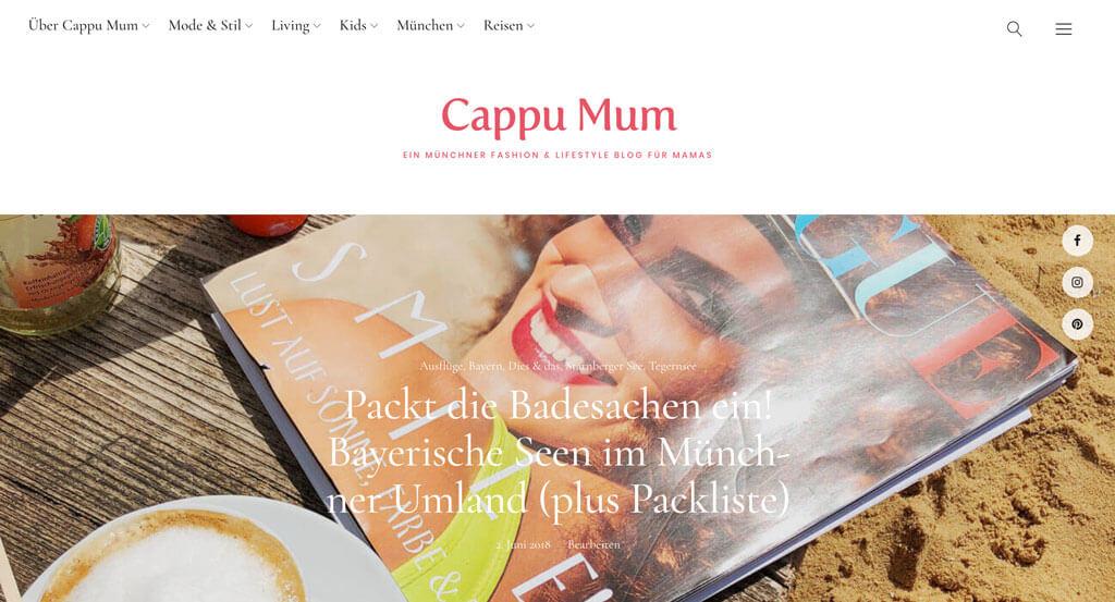 Cappu Mum Blog München