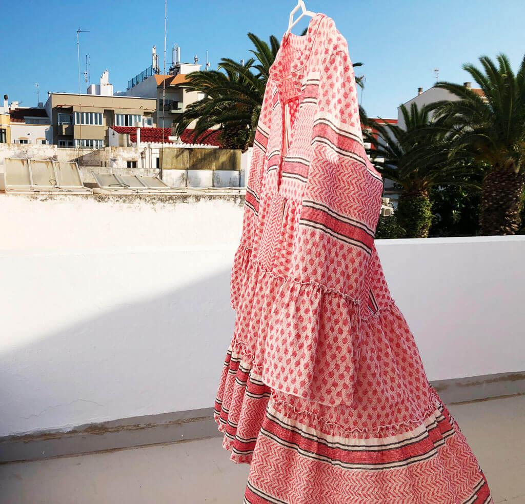 Herbstlook mit Tunika Kleid