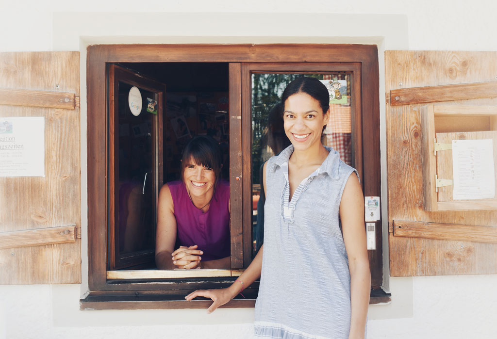 Michaela und Claire
