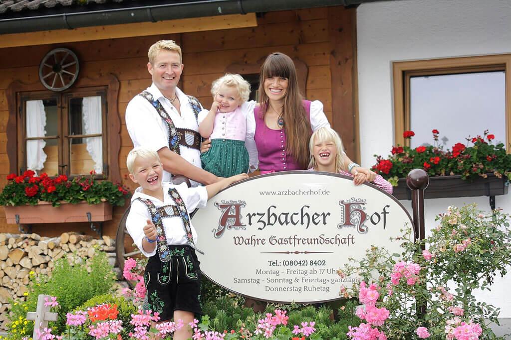 Camping in Bayern auf dem Arzbacher Hof