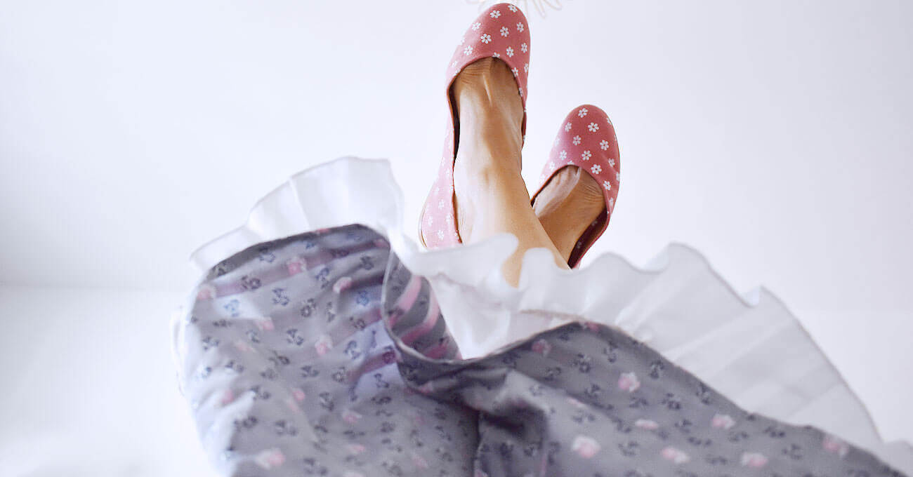 Bayerinas München sind die Ballerinas zur Tracht für die Wiesn