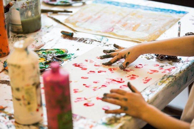 Kindergeschichten beim Vorlesetag im Kinderkunsthaus München