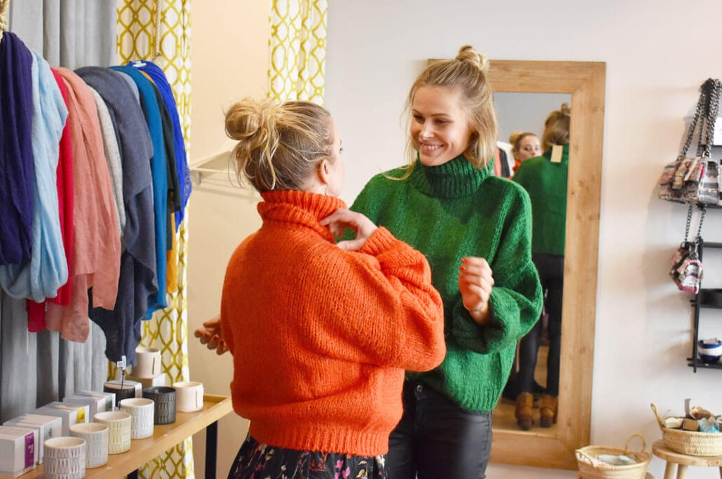 Winter Mama Styling Party im Lemoni Shop