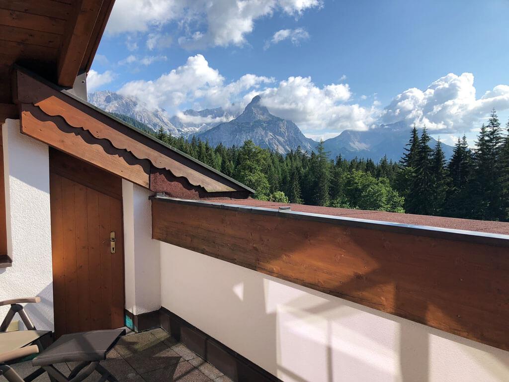 Tiroler Zugspitze Urlaub und Wandern Ehrwald mit Familie