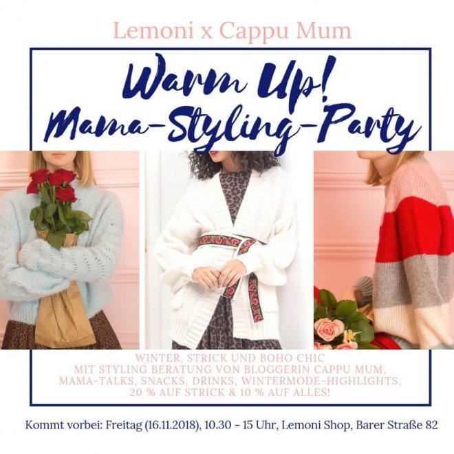 Mama Styling Party im Lemoni Shop München