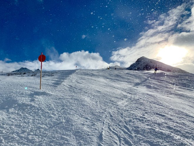 Skifahren in Kühtei