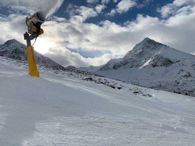 Mooshaus Kühtai Skifahren