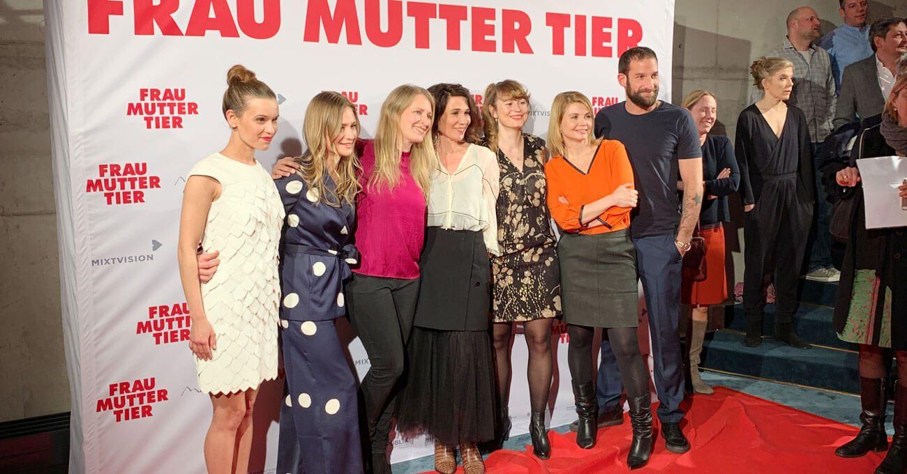 Premiere von Frau Mutter Tier in München