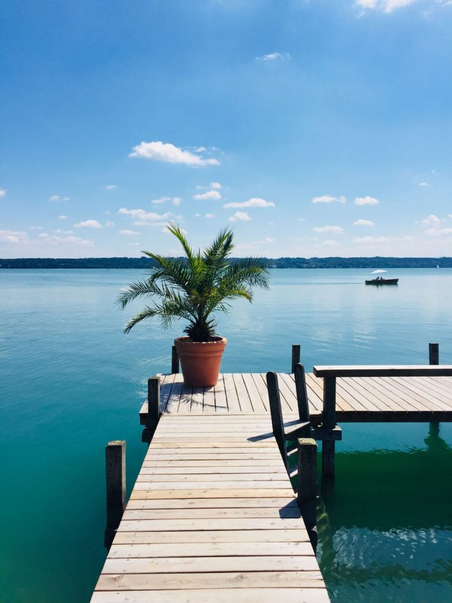 SUP Starnberger See Nordbad Tutzing