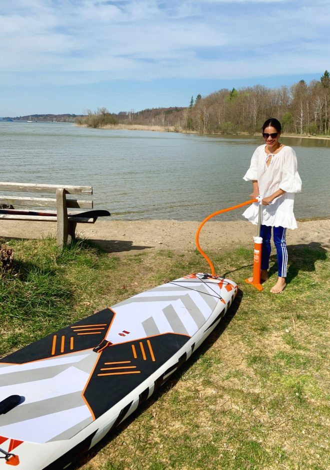 Stand Up Paddling Starnberger See St. Heinrich