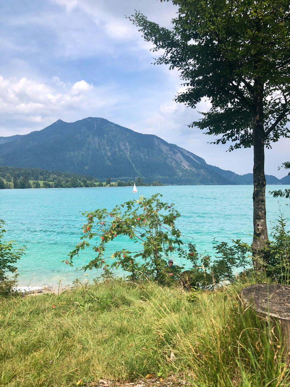 Stand Up Paddling Walchensee Badestrand