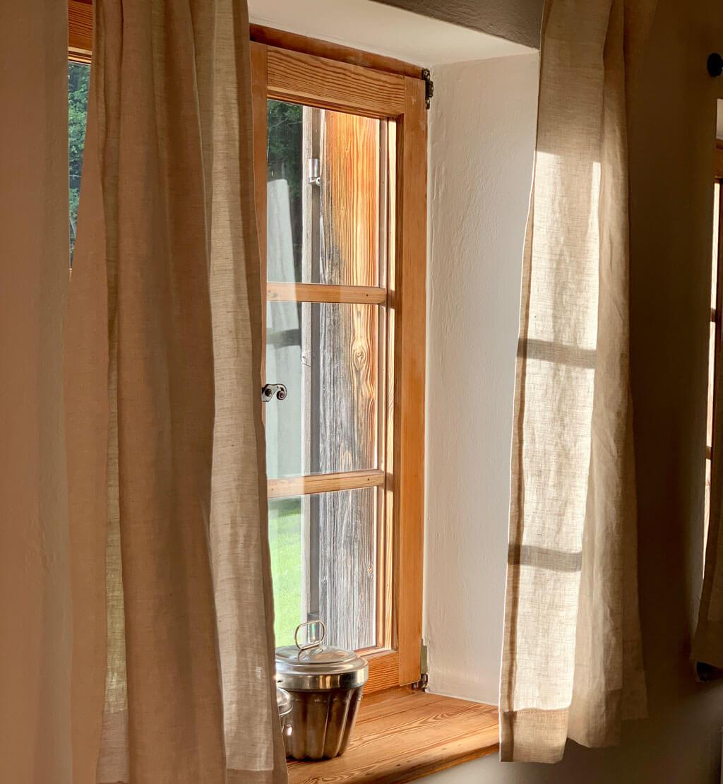 Die Stube Heuboden für den Familienurlaub auf dem Ansitz Hohenegg