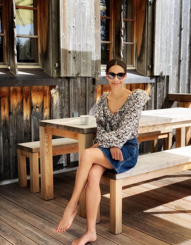 Claire von Cappu Mum auf Ansitz Hohenegg im Allgäu