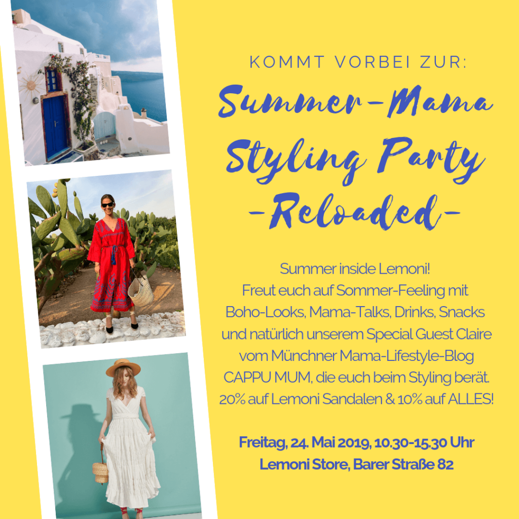 Summer-Mama Styling Party im lemoni Store München