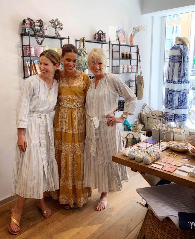 Die Party im Lemoni Shop München mit Stylist Cappu Mum